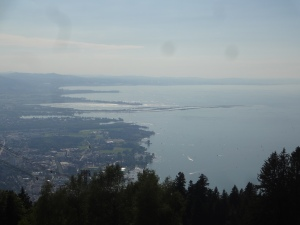Use the cable car in Bregenz and enjoy the view of the lake